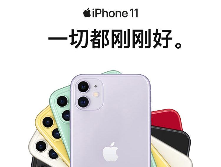 Apple iPhone 11 多色可选 256GB